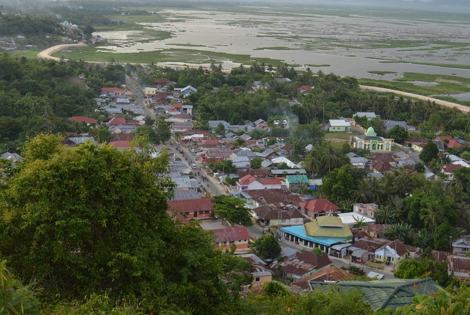 Kawasan perdesaan di Wilayah Gorontalo. LEBIHDALAM/Rendy A. Diningrat