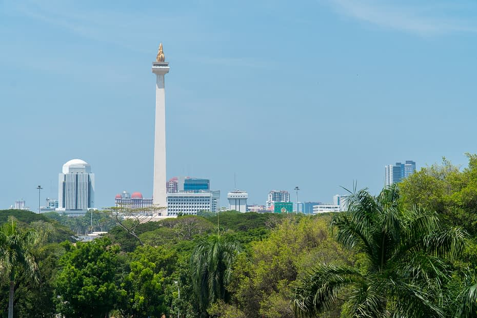 Monumen Nasional, Jakarta. Mukti Mulyana