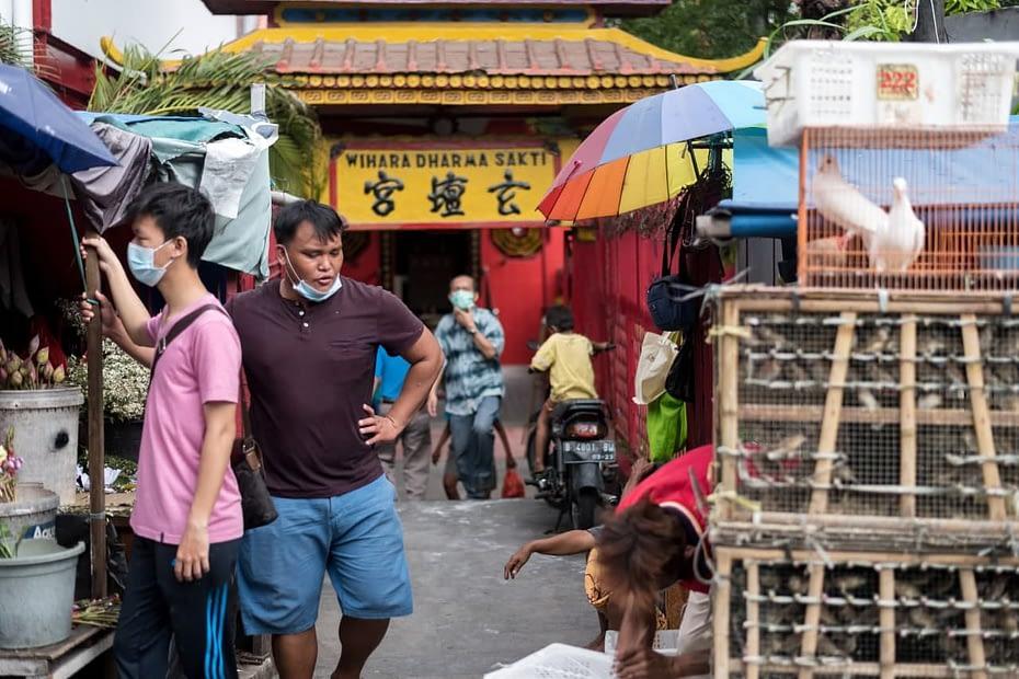 Kampung Pecinan di Jakarta. MUKTI Mulyana