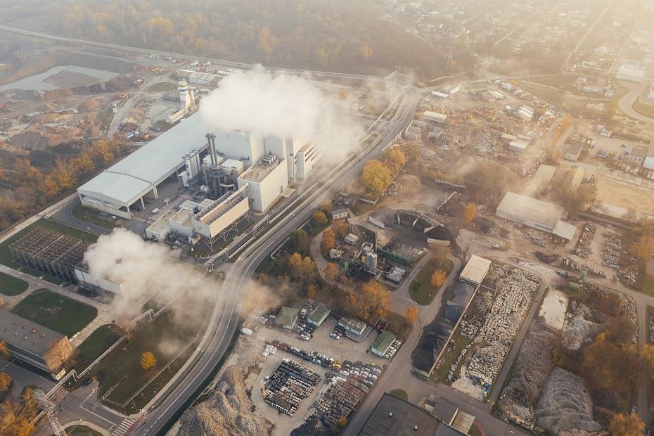 Ilustrasi pembangkit listrik - Marcin Jozwiak on Pexels